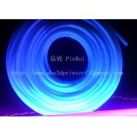 Cheap 6mm / 8mm Fluorescent PVC Plastic Flexible Hose Tube UV Resistant for sale