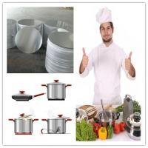 1050 1100 1060 3003 Soft  Induction Disc Aluminum Round Circle for Pot Materials