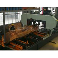 Quality Large Horizontal Band Saw Wood Portable Sawmill For Sale Full Automatic Big Sawmill wholesale