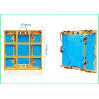 Quality Super Slim LED Stage Screen Aluminum Cabinet P3 576 * 576 For Indoor Display wholesale