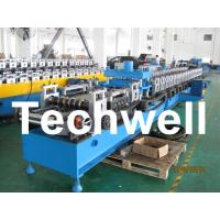 Quality 21KW 45# Steel Sigma Profile Roll Forming Machine With 16 Steps Forming Station wholesale