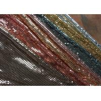 China Splendent 4MM Square Metal Sequin Fabric Decoration For Dresses / Garment on sale