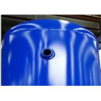 Quality Carbon Steel Low Pressure Air Tank , 1320 Gallon Volume Compressed Air Holding Tank wholesale