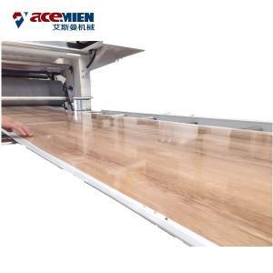 China PVC WPC SPC Flooring Machine Stone Floor Board Sheet Tile Speed 0.6-6m/Min on sale