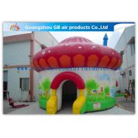 Colorful Mushroom Play Tent Inflatable Air Tent for Trade Show Exhibition