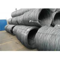 Quality Customized Size Sae 1008 Wire Rod , Non Alloy High Carbon Wire Rod wholesale