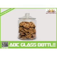 Quality High quality biscuit glass jar with easy open end wholesale
