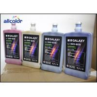 Quality Climate Resistant CMYK Eco Solvent Based Ink Epson DX5 Printhead Compatible wholesale
