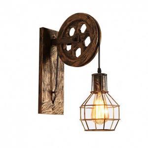 China Energy Saving Filament Bulb Wall Lights / Hanging Bulb Wall Light Easy Installation on sale