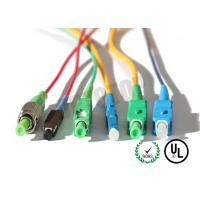 Quality MM OM4 Simplex Fiber Optic Patch Cord 2mm With SC-APC Connector , ROHS Standard wholesale
