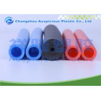 China Extruded Pe Colored Foam Pipe Insulation For Cold Pipe Heat Loss Prevention on sale