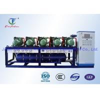 Quality High Temperature R22 Cold Room Cooling Unit , Parallel Bitzer Condensing Unit wholesale