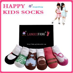 Quality Lovely Kids Socks Cotton Baby Socks,Anti-slip Infants Socks wholesale