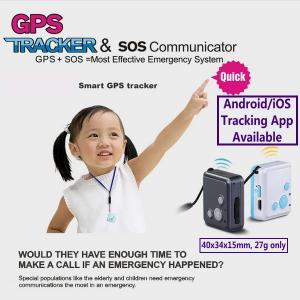 Quality V16 Mini GSM GPS Tracker+Child Kids Elderly SOS Button Alarm Transmitter W/ Inbuilt Microphone & Speaker for 2-Way Talk wholesale
