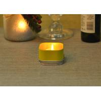 Quality 120ml Party Colored Tealight Votive Tin Containers For Candles wholesale