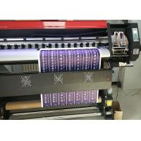 Quality 1.8m Eco Solvent Printing Machine With XP600 head For 4 Colors Or 6 Colors At 2160 Dpi wholesale