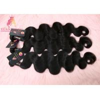 Quality Black Virgin Indian Hair, Body Wave Hair Weave Bundle, Indian Hair Extension wholesale