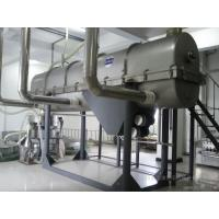 Quality SUS304Vibrating Fluid Bed Dryer Machine with steam heating,electrical heating  for drying sugar ,salt, powder granule wholesale