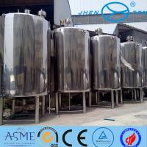 Quality Milk Storage High Pressure Vessel Bioligy Health Tank Vertical wholesale