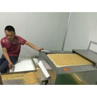 Quality Grains Peanut Soybean Biomass Drying Machine , Industrial Microwave Dryer wholesale