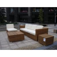 China  7pcs PE wicker garden furniture on sale