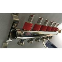 Quality House Long Flow Meter  Manifold For Underfloor Heating On Stainless Steel 304 wholesale