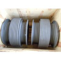 Quality Aluminium Alloy Drum Shaped Wire Rope Reel with Different Reel Diameter wholesale
