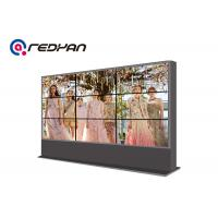 Airport 3 X 3 Seamless LCD Video Wall Display 4k For Restaurant / Hotels