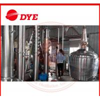 Quality Manual Still For Alcohol Making , Brandy Distillation Equipment wholesale