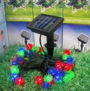 Quality IP6 Flexible Led Strip Lights LED String Light Christmas Halloween Decoration Solar Panel wholesale