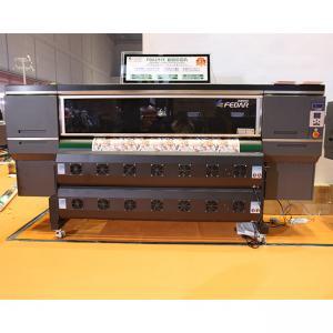 China 3200 Nozzles CMYK Ink 150sqm/H Subliamtion Textile Printer on sale