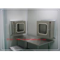 China Portable Clean Room Equipment Electronical  Pass Box For Hospital on sale