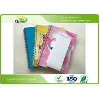 Quality Yellow Paper Blank Spiral Notebook , ROHS Spiral Bound Engineering Notebook  wholesale