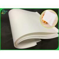 Quality 70GSM Natural Virgin White Kraft Paper Roll With FSC Certification wholesale