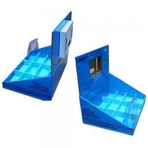 China Retail LCD Cardboard Counter Display/pop counter cardboard display lcd screen cardboard counter display/ LCD couurgated on sale