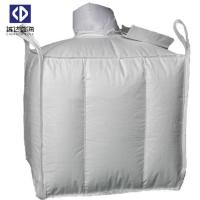 Cheap Baffle FIBC Bulk Bags 1000KG Virgin Polypropylene Material 4 Side Seam Loops for sale