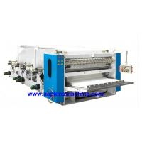 Quality High Efficiency V Fold Facial Tissue Paper Production Machine For Making Napkin wholesale