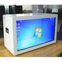 China Windows Transparent LCD Touch Screen , LCD Advertising Display SD Card on sale