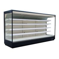 China Free Standing Open Display Fridge , Commercial Beverage Cooler Refrigerator on sale