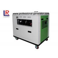 China Single Cylinder 4.5kVA Diesel Electric Generator Industrial with Air - cooled on sale
