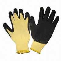 Quality Latex-coated gloves, PPE products, work gloves  wholesale