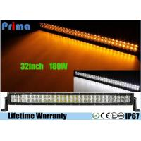 China 32 inch Led Truck Light Bar Wireless Remote Control 180W Super Cool Yellow White on sale