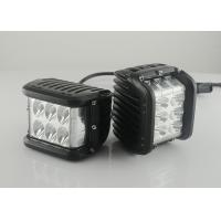 "Quality 45W 4.5"" Square Vehicle LED Work Lights 3800 Lumen , Black Housing Colors wholesale"