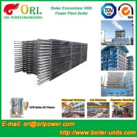 Quality Condensing CFB Boiler Economizer Coil / Economiser In Power Plant power plant economizer wholesale