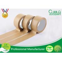 Quality Automatic Adhesive Custom Printed Kraft Paper Tape For Packing / Wrapping wholesale