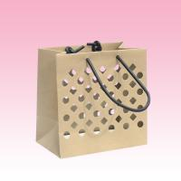 China custom kraft paper bags wholesale printing manufacturer with hollow on sale