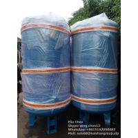 Quality Vertical Type Nitrogen Air Compressor Tank 2m3 10 Bar Pressure Carbon Steel Air Tank wholesale