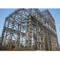 Quality Large Span Heavy Architectural Structural Steel Portal Frame With Bridge Crane wholesale
