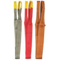 Quality Double Ear Anti - Corrosion Crane Components Flat Surface Polyester Sling For Lifting wholesale