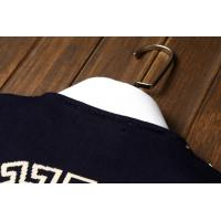 Cheap wholesale fashion trend leisure male designer v-ersace round collar long sleeve for sale